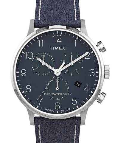 Modré hodinky Timex
