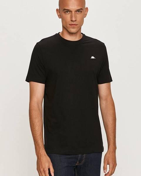 Čierne tričko Kappa