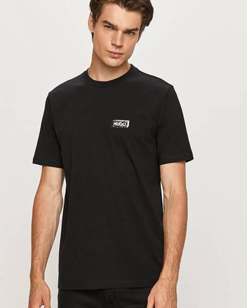 Čierne tričko HUGO