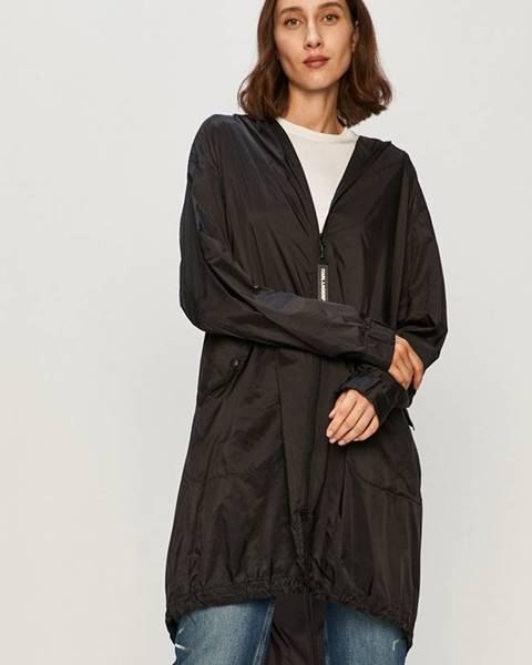 Čierny kabát Karl Lagerfeld