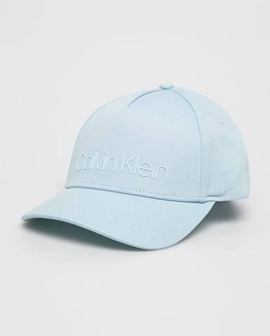 Modrá čiapka Calvin Klein