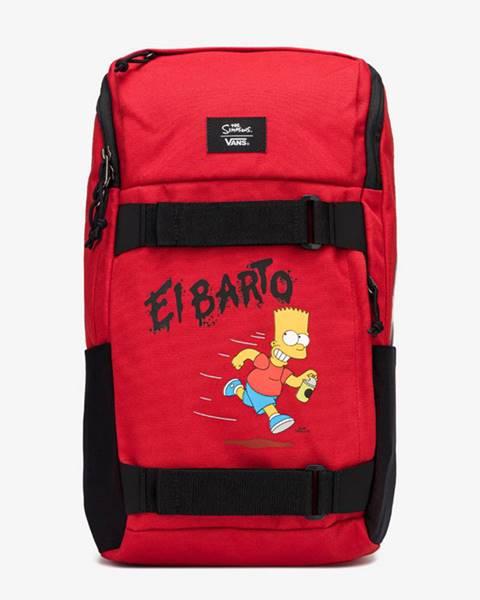 Červený batoh Vans