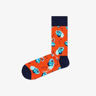Happy Socks Clean Elephant Ponožky Červená