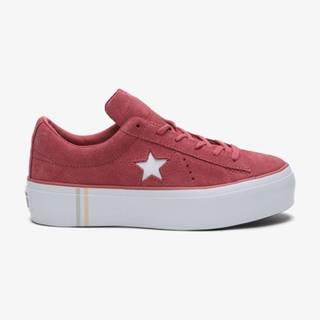 Converse One Star Seasonal Tenisky Červená Ružová