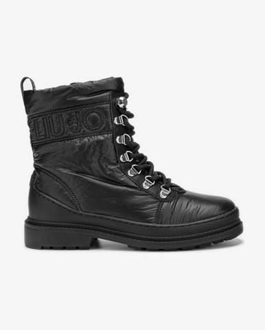 Čierne členková obuv Liu Jo