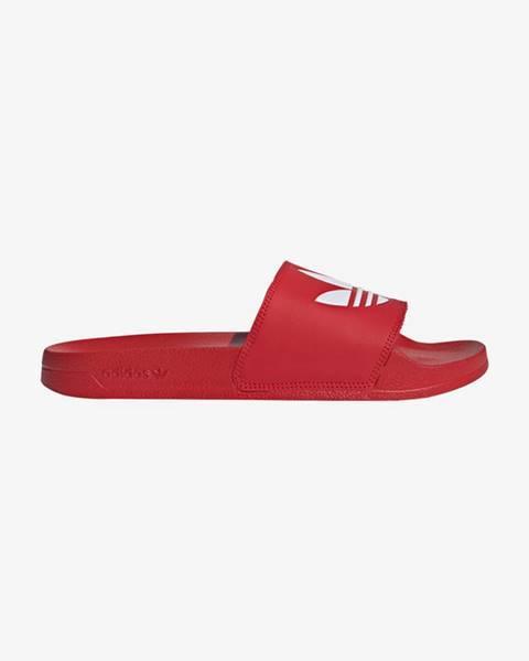 Červené sandále adidas Originals