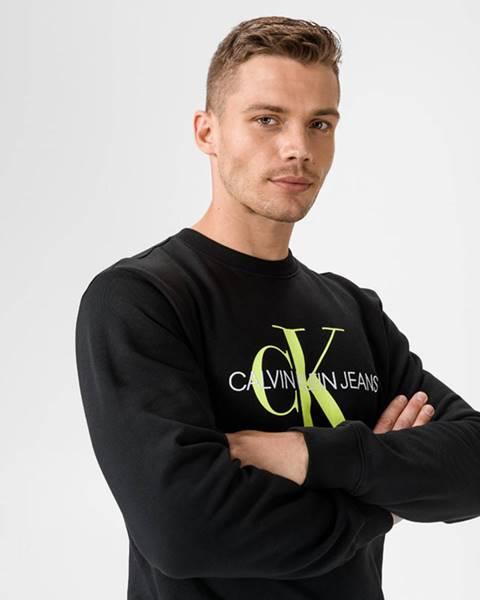 Čierna bunda bez kapucne Calvin Klein