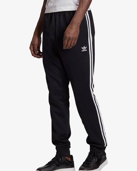 Čierne tepláky adidas Originals