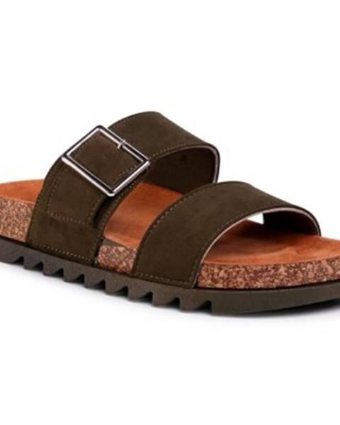 Khaki sandále Jenny Fairy