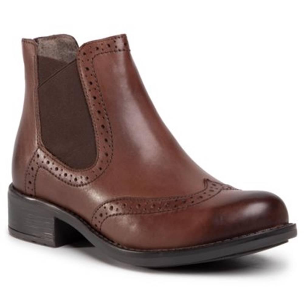 Lasocki Členkové topánky Lasocki WI23-BEECH-01 koža(useň) lícová