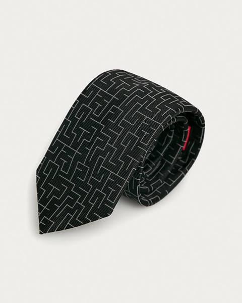 Čierna kravata HUGO