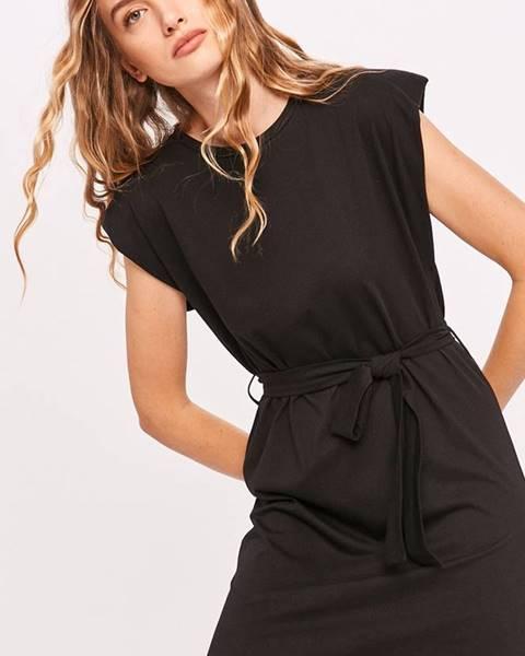 Čierne šaty Answear Lab