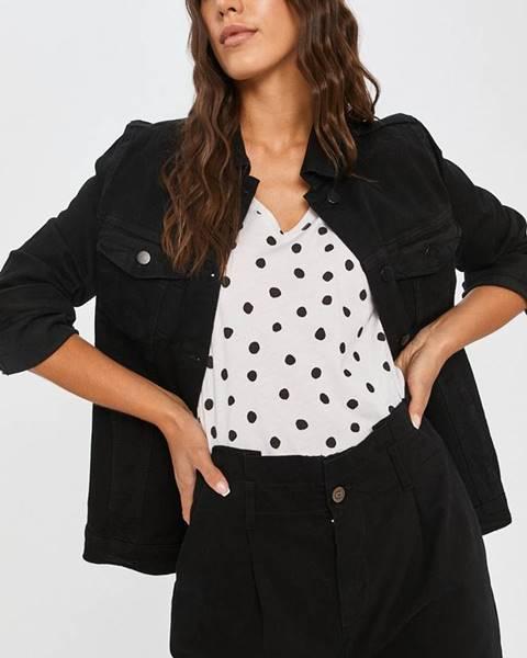 Čierna bunda Answear Lab