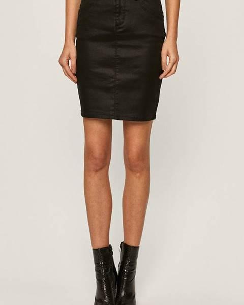 Čierna sukňa Morgan