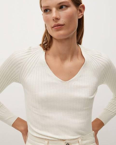Béžový sveter Mango