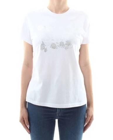Biele tričko Roberto Cavalli