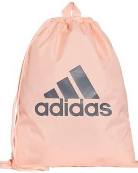 Oranžový batoh adidas