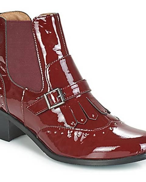 Bordové topánky Karston