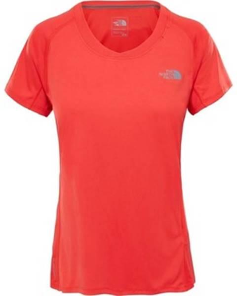 Oranžové tričko The North Face