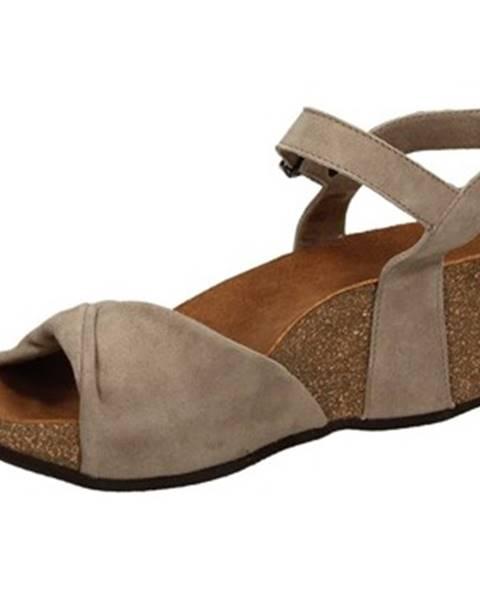 Hnedé sandále Frau