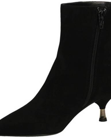 Čierne čižmy Giampaolo Viozzi