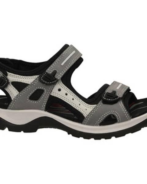Viacfarebné sandále Ecco