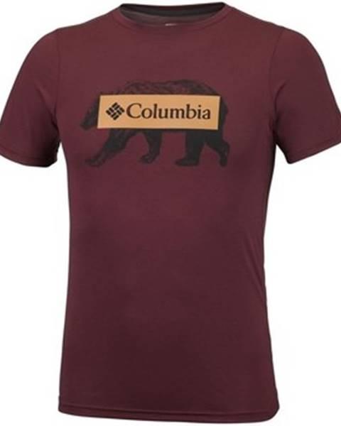 Viacfarebné tričko Columbia