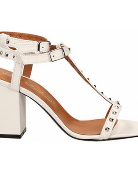 Biele sandále Via Roma 15