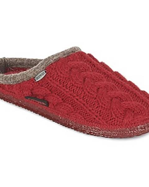 Červené papuče Giesswein