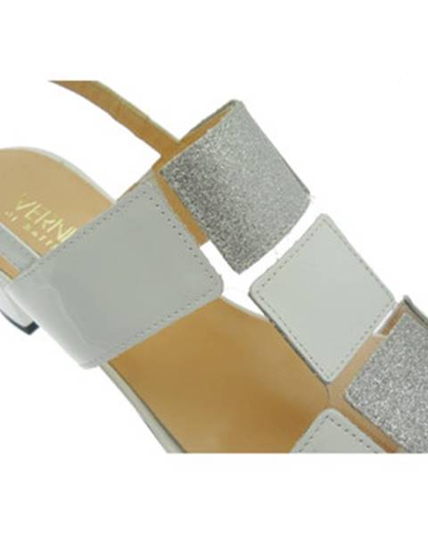 Biele sandále Soffice Sogno