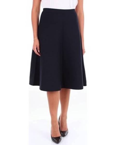 Modrá sukňa Cruciani