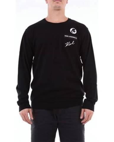 Čierny sveter Karl Lagerfeld