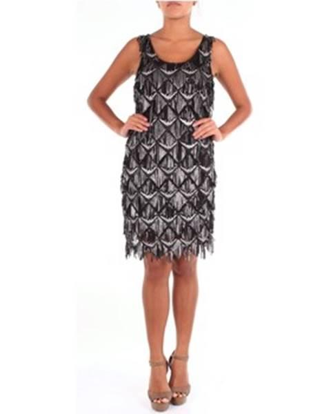 Čierne minišaty Twins Beach Couture