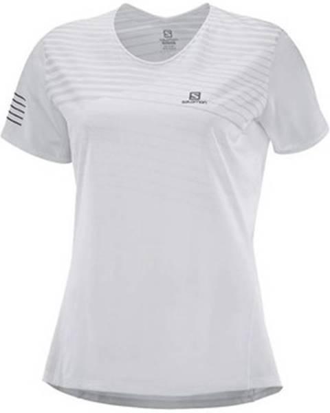 Biele tričko Salomon