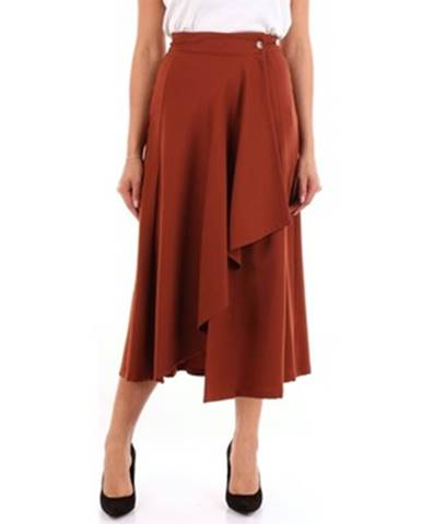 Hnedá sukňa Barba Napoli