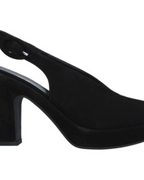 Čierne sandále Tres Jolie