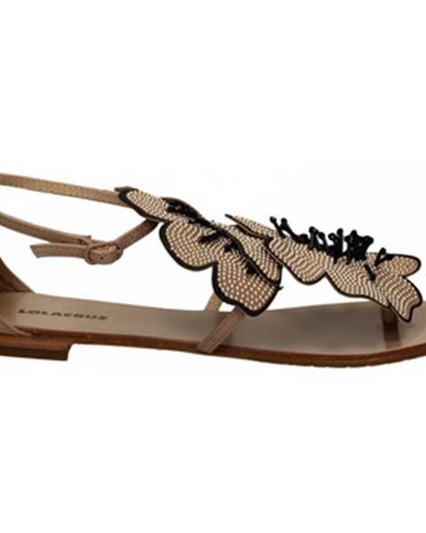 Hnedé sandále Lola Cruz