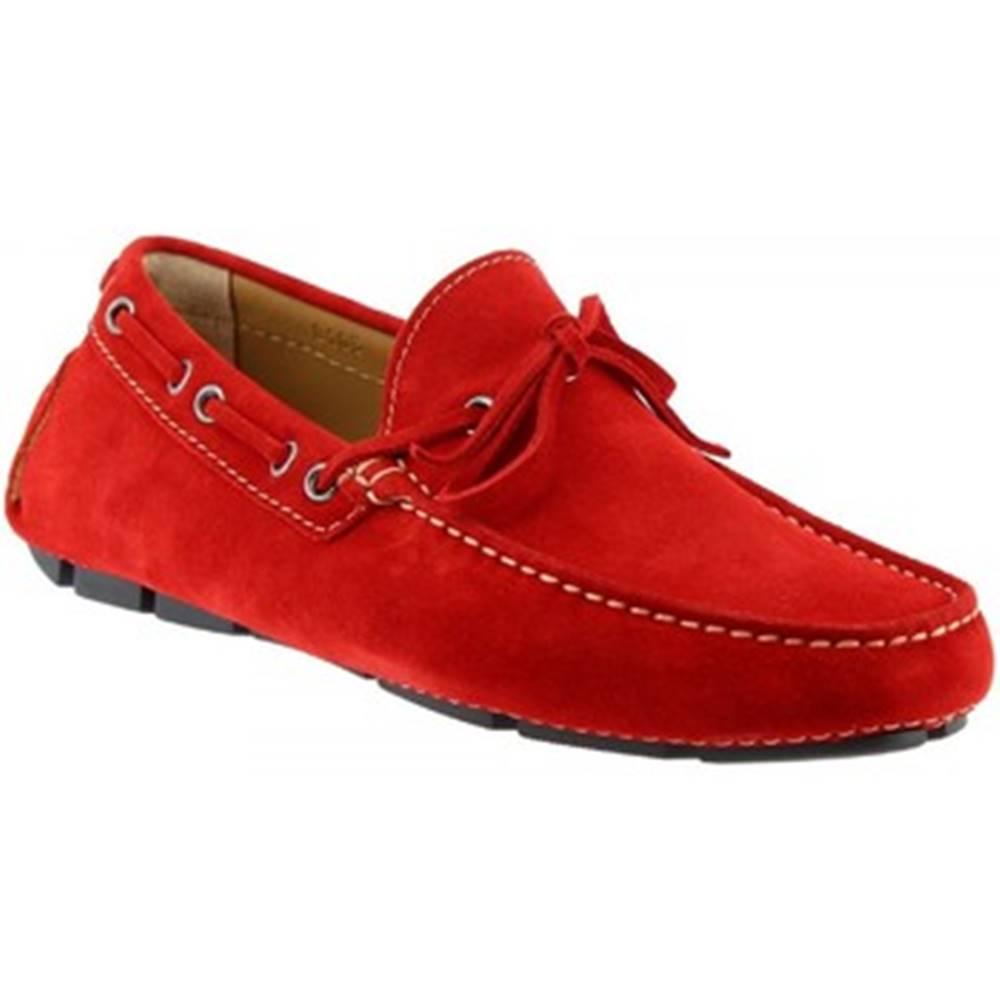 Leonardo Shoes Mokasíny Leonardo Shoes  8103AF SOFTY ROSSO