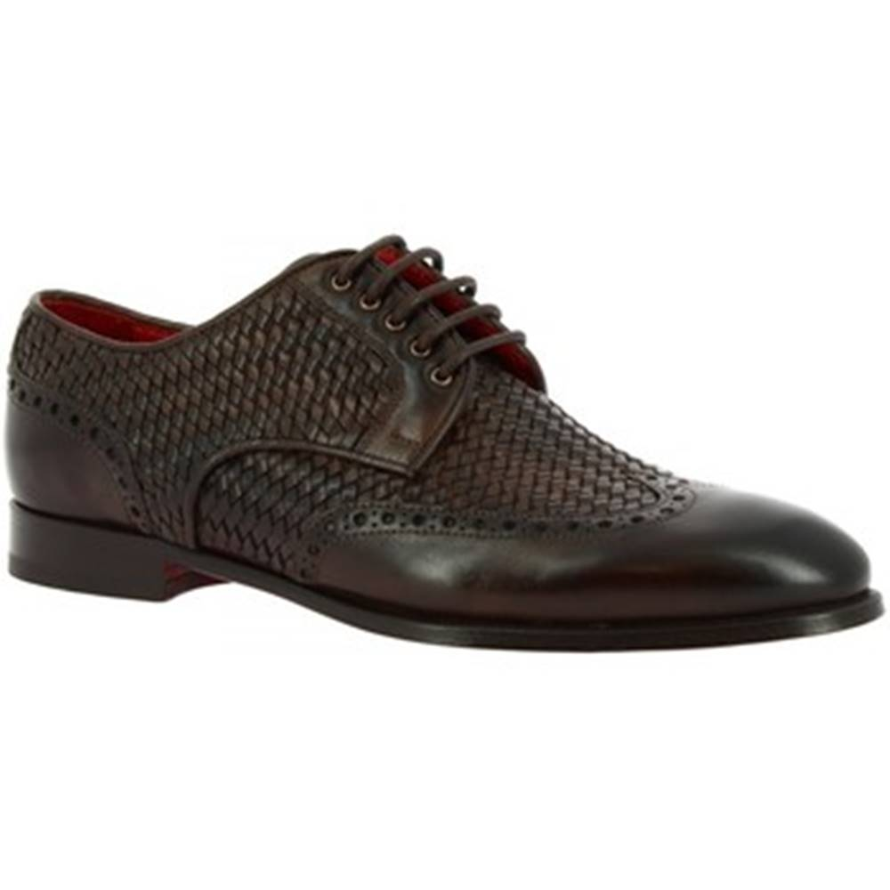 Leonardo Shoes Derbie  9457E20 VITELLO AV T.MORO