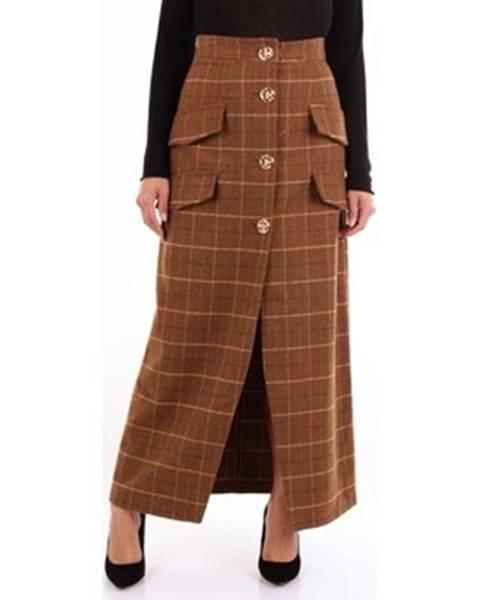 Viacfarebná sukňa Weili Zheng