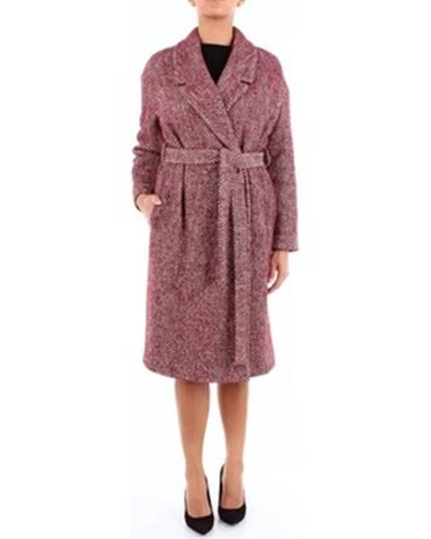 Červený kabát Semicouture