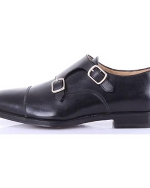 Čierne topánky Barba Napoli