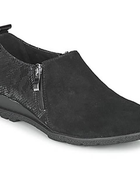 Čierne topánky Damart