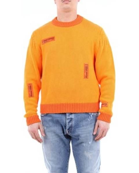 Oranžový sveter HERON PRESTON