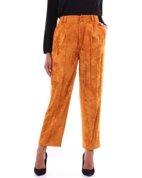 Oranžové chino nohavice Pt Torino