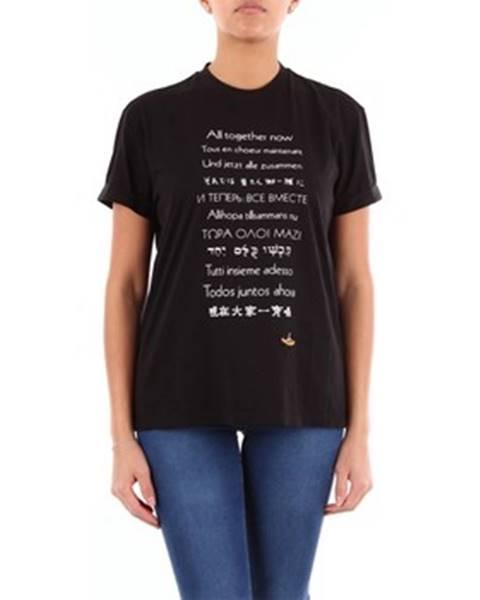 Čierne tričko Stella Mc Cartney