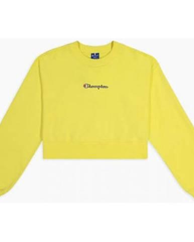 Žltá mikina Champion