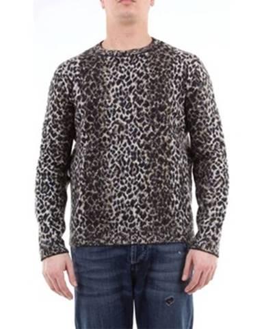 Viacfarebný sveter Saint Laurent