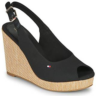 Sandále Tommy Hilfiger  ICONIC ELENA SLING BACK WEDGE