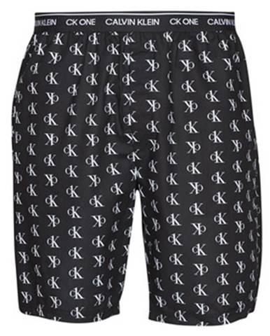 Čierne kraťasy Calvin Klein Jeans